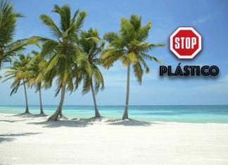 Caribe isla de plástico